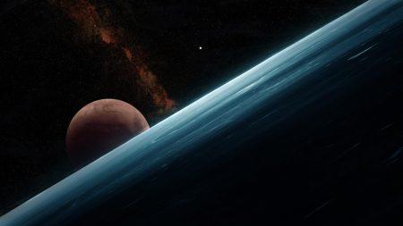 planets, slope, stars