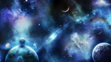 planets, stars, space