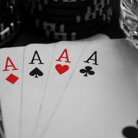 poker, aces, combination