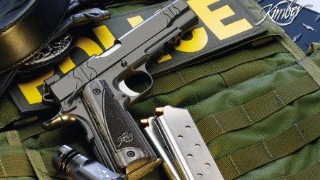 police, guns, gun