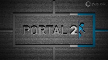 portal 2, background, graphics