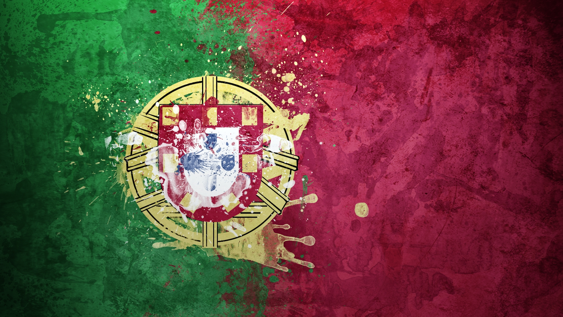 Earnings Disclaimer >> Download Wallpaper 1920x1080 portugal, flag, coat of arms ...