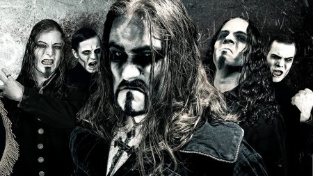 powerwolf, band, faces