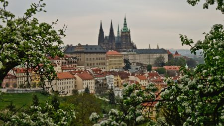 prague, czech republic, view