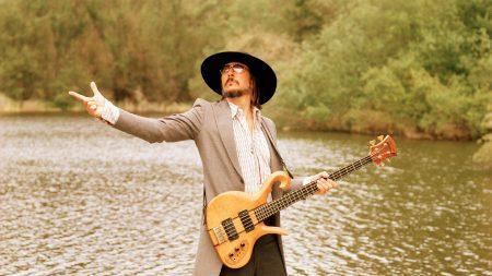 primus, guitar, lake