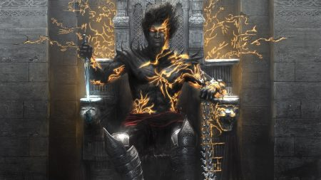 prince of persia, knife, throne