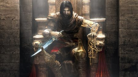 prince of persia, throne, knife