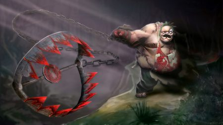 pudge, dota 2, art