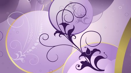 purple, brown, bright