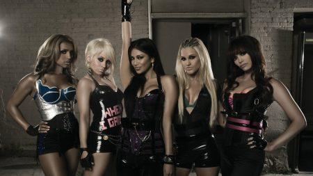pussycat dolls, girls, house