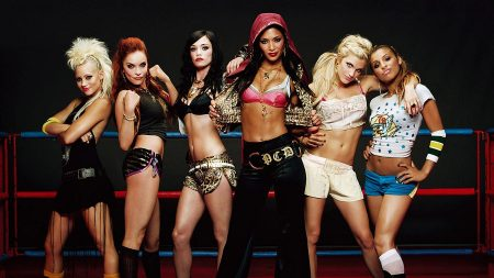 pussycat dolls, girls, ring