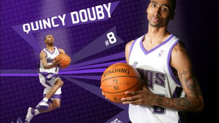 quincy douby, basketball, ball