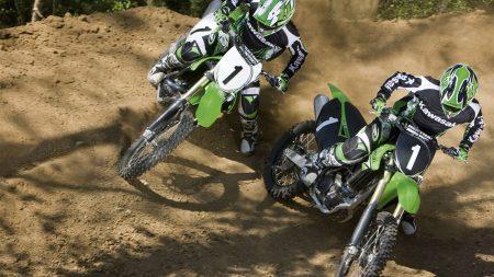 race, motorcycles, turn