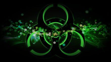 radiation, sign, spot