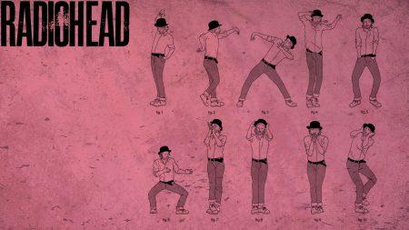 radiohead, name, font