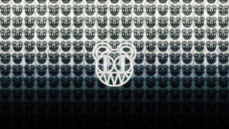 radiohead, symbol, background