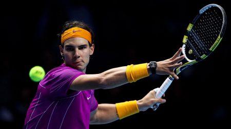 rafael nadal, tennis player, racket