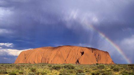 rainbow, australia, after rain