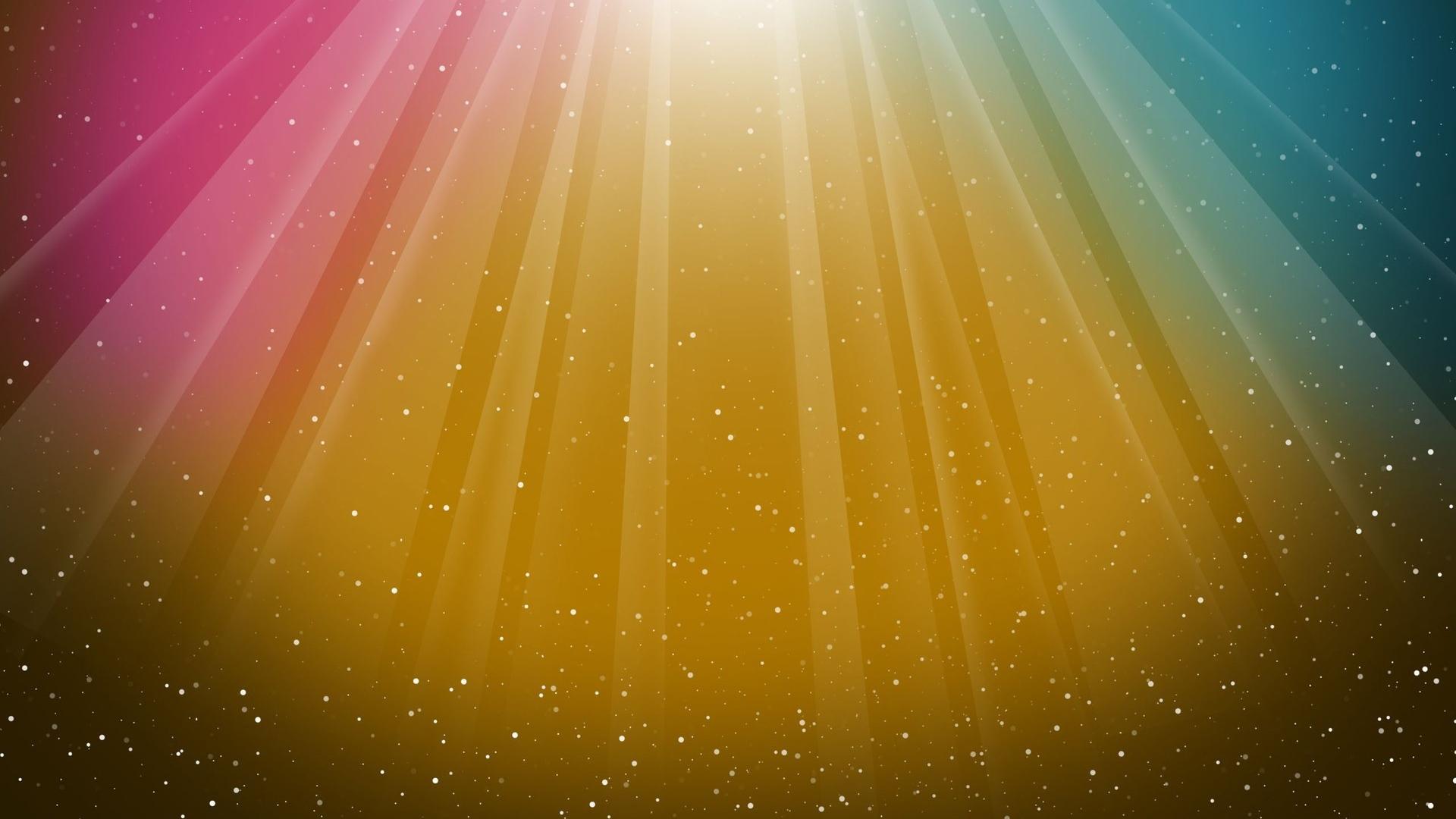 rainbow, colorful, drops