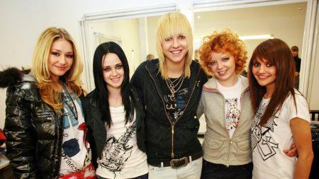 ranetki, girls, band