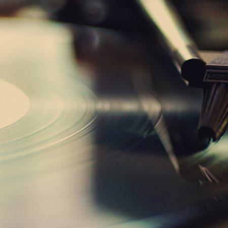 record player, record, retro