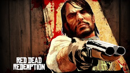 red dead redemption game, gun, look