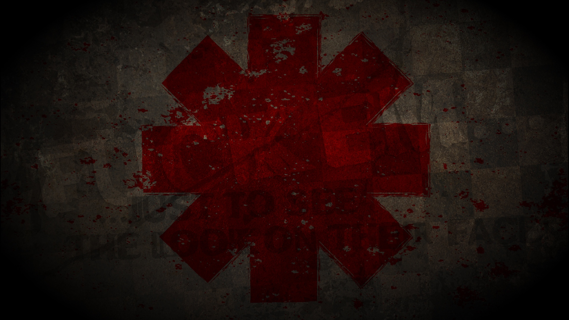 Download Wallpaper 1920x1080 Red Hot Chili Peppers Symbol