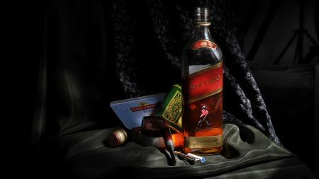red label, johnnie walker, whiskey