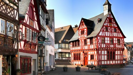 rhens, germany, street