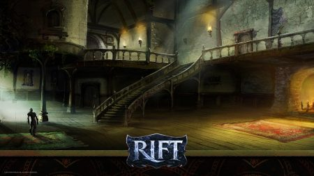 rift, stairs, light