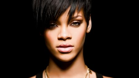 rihanna, face, girl