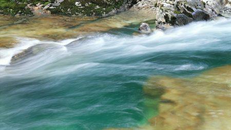 river, stream, course