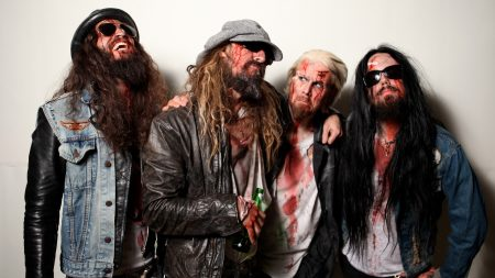 rob zombie, image, blood