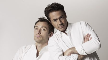 robert downey jr, jude law, actors
