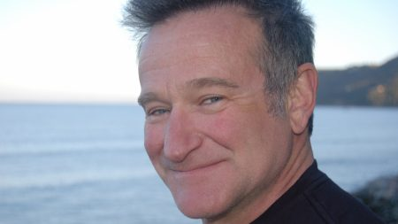 robin williams, face, man