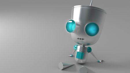 robot, eyes, metal