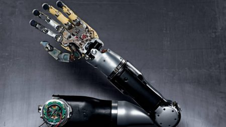 robot, hand, technology