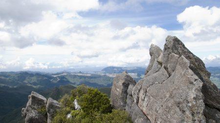 rock, height, top
