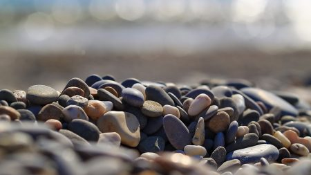 rocks, beach, nature