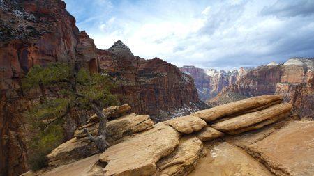 rocks, plates, canyon