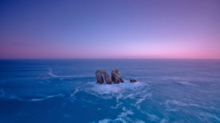 rocks, sea, arches