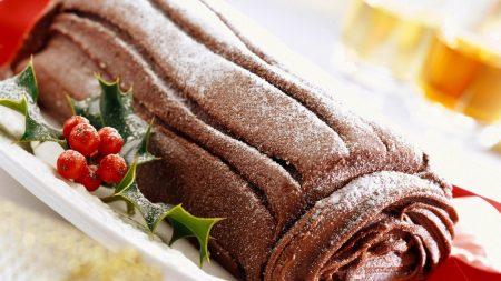 roll, chocolate, powder