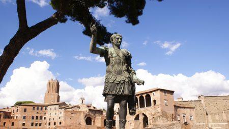 rome, caesar, monument