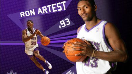 ron artest, basketball, ball