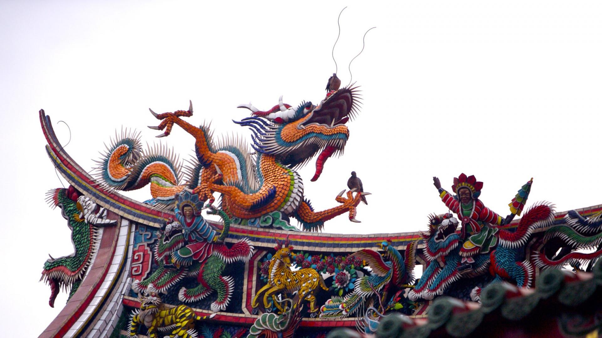 обратный древний китай картинки дракона зарослях