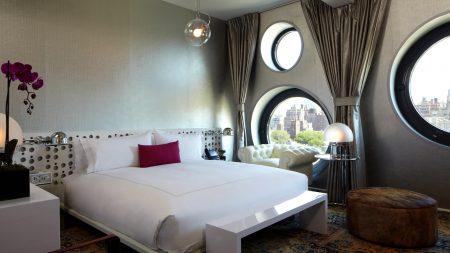 room, window, bed