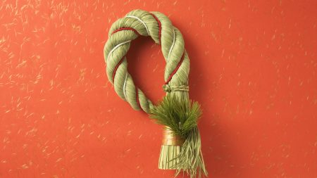 rope, red, knot