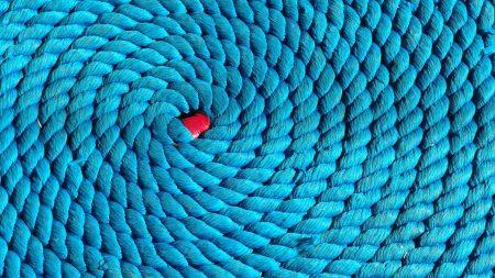 rope, spiral, braided