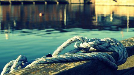 rope, water, shine