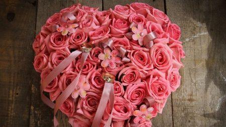 roses, bouquet, wedding